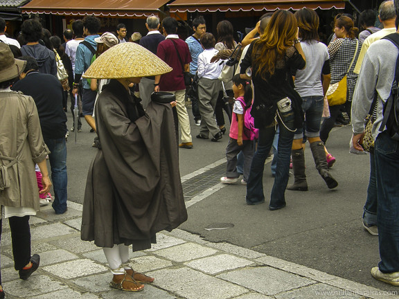 Monje budista - Kioto