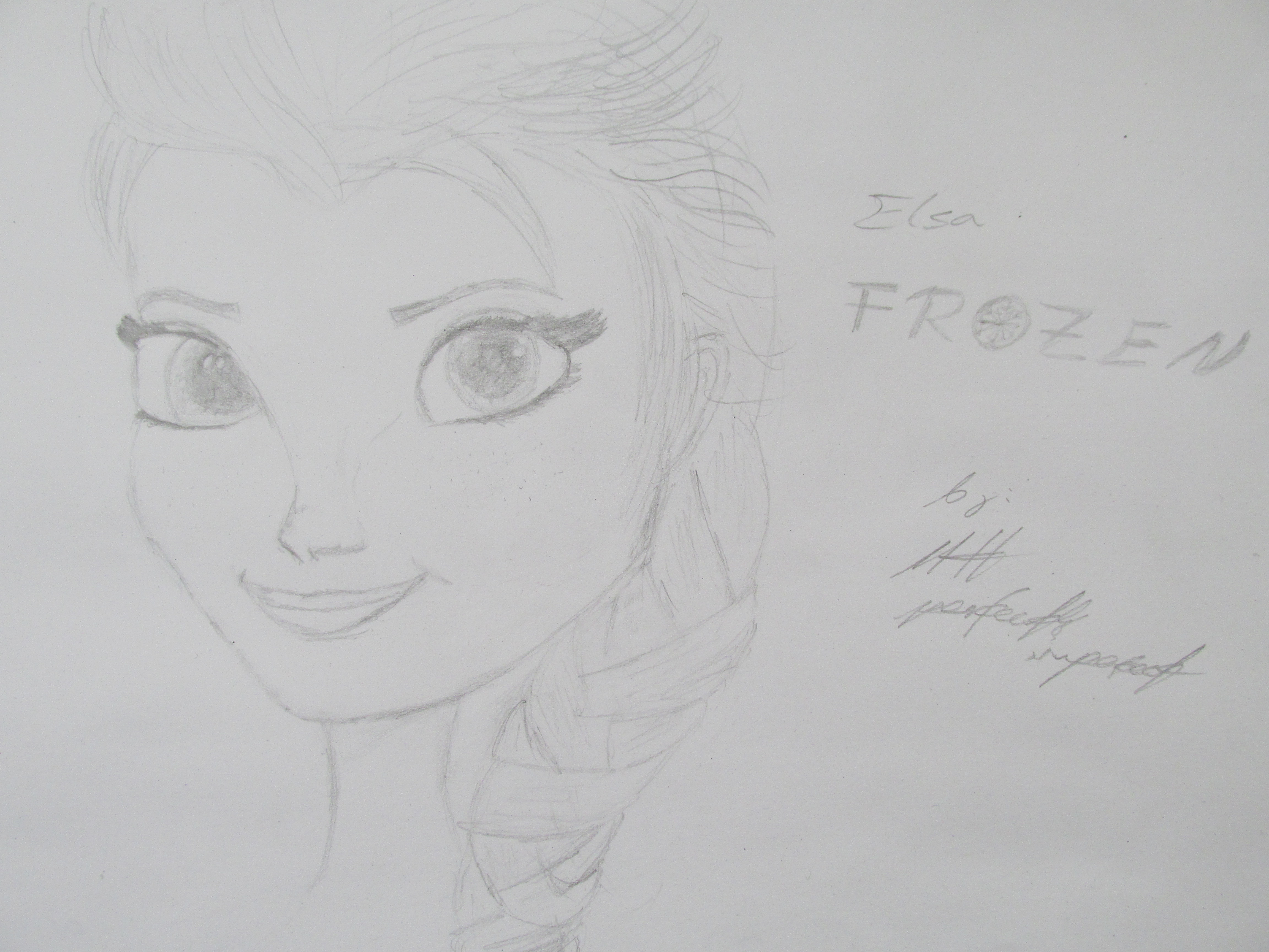 how to draw frozen characters elsa