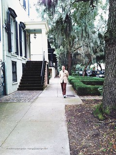 brian strolling in savannah