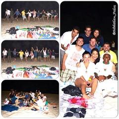 Despedida do amigo Knut com um excelente luau na Praia de Copacabana com os amigos @elianaprintes @adonaypereira1 @felippemeireles @karlacolares @hiroiwane @happymoon Andrea, Sheila, Gabriel, Branco, Mina, Antonio Pitanga #elianaprintes #tudoemmovimento #