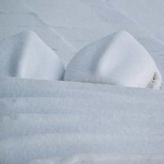 sleeping boats under the white blanket