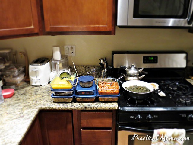 Cooking for the week