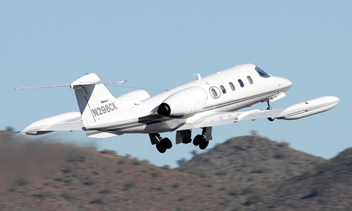 Aircraft (LJ35) silhouette
