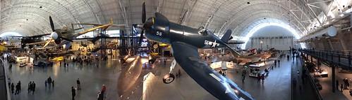 museum airplane virginia smithsonian dulles aircraft jets corsair hanger sr71 chantilly udvarhazy p40 f4u flyingtiger