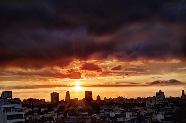 Atardecer en primavera - Sunset in spring