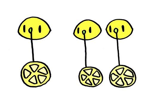 レモン一輪車