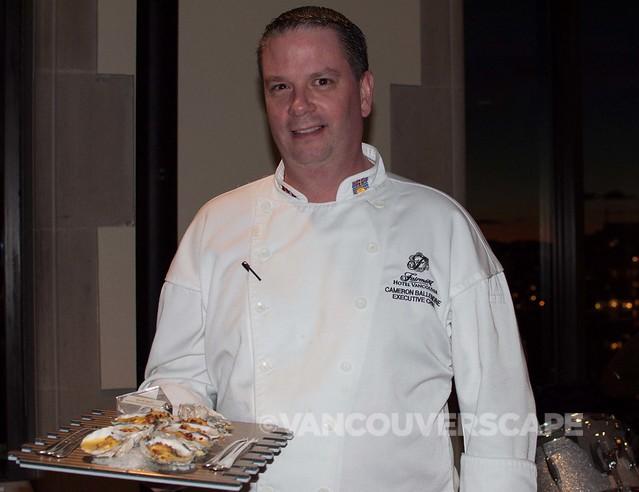 Fairmont Hotel Vancouver Chef Cameron Ballendine