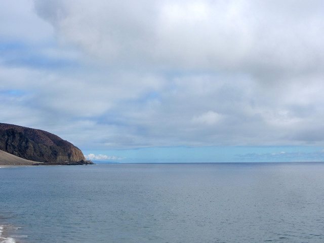looking south from Mugu rock