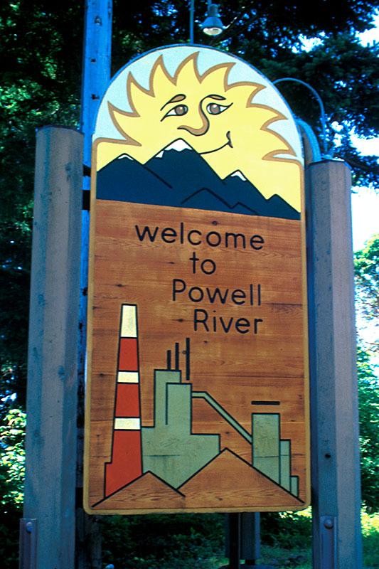 Powell River, Malaspina Peninsula, Sunshine Coast, British Columbia, Canada