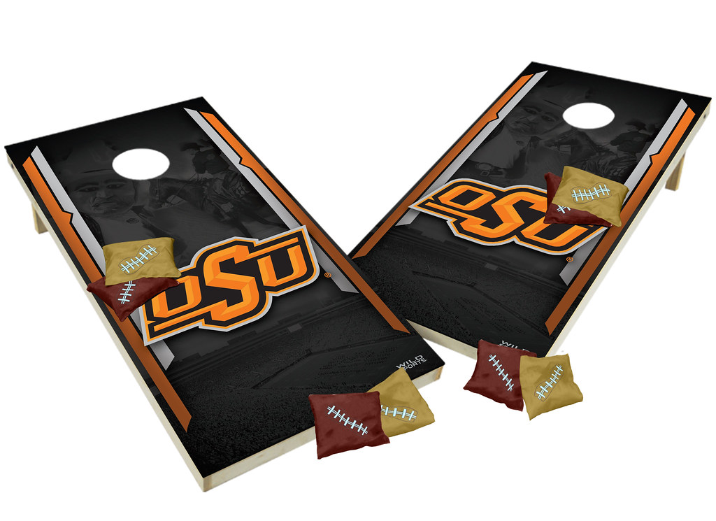 Oklahoma State Cowboys Custom Cornhole Boards XL
