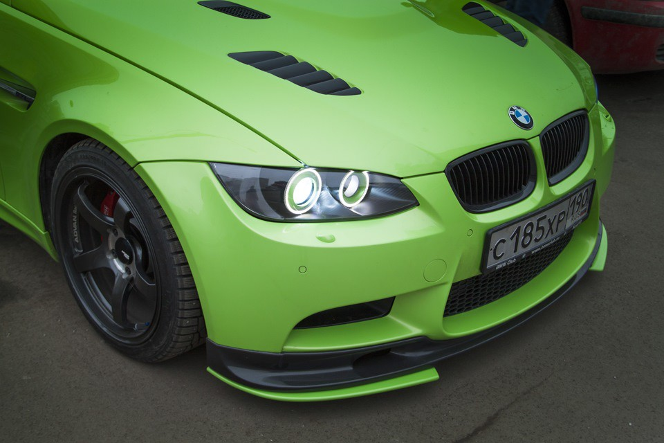 Oneighty Bmw E90 E92 E93 M3 Custom Headlight Upgrades