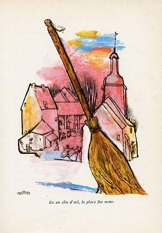 Le marchand de nuages, by Léonce BOURLIAGUET