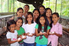 Philippines team continues typhoon recovery plan with help of improved hen house by Peace Gospel