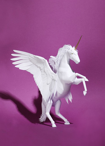 paper-sculpture-winged-unicorn