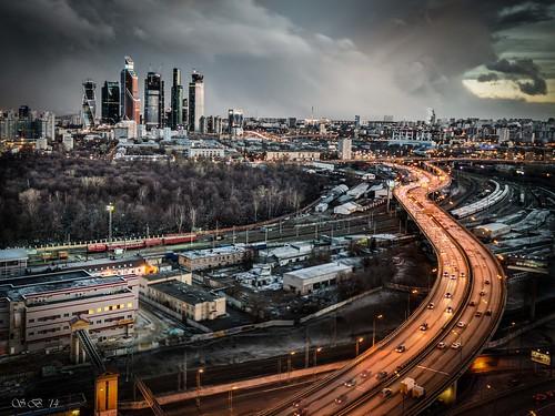 sunset russia moscow ru rus 2014 закат москва россия thirdringroad беговая ттк