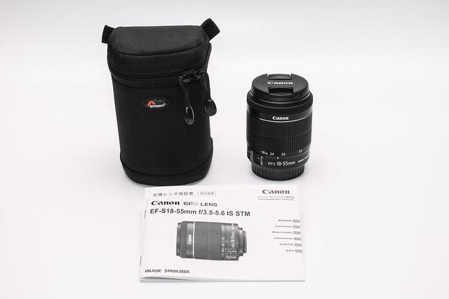 20140317_05_【売ります!】CANON EF-S18-55mm F3.5-5.6 IS STM(未使用品)_15000円(送料別)