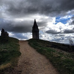 #hike #hiking #walk #walks #walking #path #hills #hilltop #nature #naturepics #naturelovers #outdoors #countryside #clouds #cloudporn #cloudlovers #scenic #scenery #views #monument #pike #ashton #oldham #walker