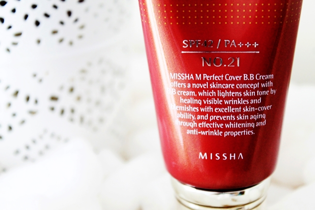 Review Missha Perfect Cover BB Cream 21 Light Beige