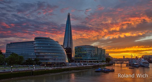uk bridge sunset london tower thames river sonnenuntergang britain united great kingdom gb shard ul themse