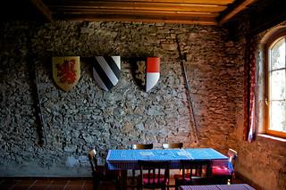 Rittersaal in der Burg Friesach (Steiermark)