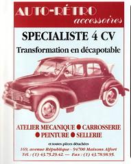 Renault 4CV Découvrable (pre-1954)