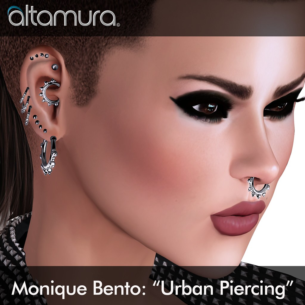 "Altamura Group ""Monique Bento Urban Piercing"" - SecondLifeHub.com"