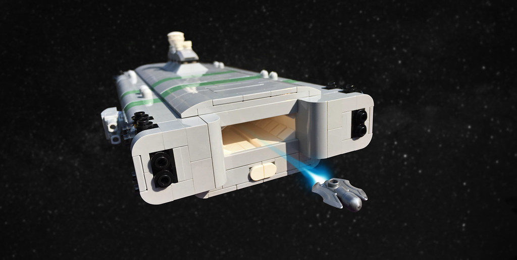 Light Assault Carrier (custom built Lego model)