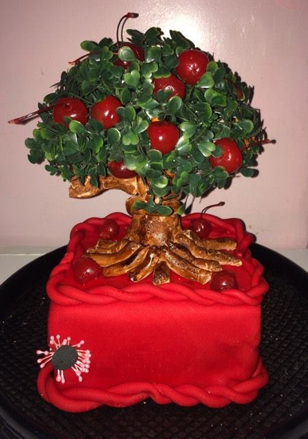 Tree Theme Artcake from Diwata Ochoco of Heartbits by Diwi