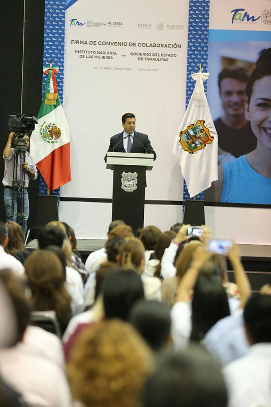 SUBSCRIBE GOVERNMENT AGREEMENT OF TAMAULIPAS AND IMMUJER