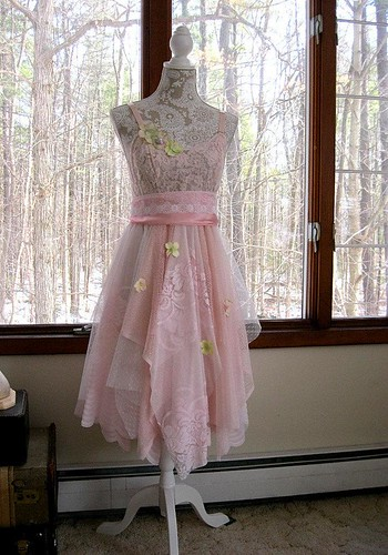 baby-pink-tattered-woodland-pixie-bohemian-gypsy-hippie-wedding-or-prom-dress-vintage-laces-34-inch-bust-us-4-6-small