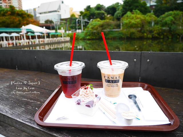 日本東京自由行賞櫻canal cafe水上餐廳 (7)