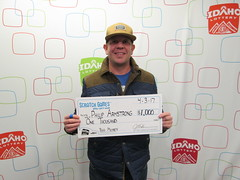 Philip Armstrong - $1,000 - Big Money - Boise - Jacksons Food Stores