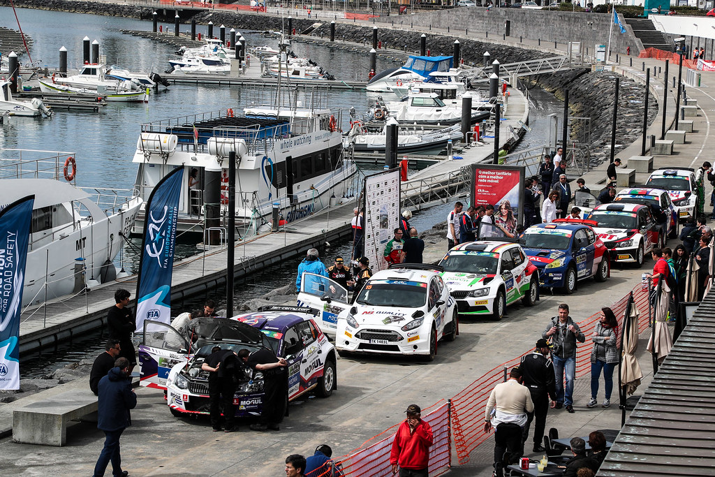 ambiance  during the 2017 European Rally Championship ERC Azores rally,  from March 30  to April 1, at Ponta Delgada Portugal - Photo Jorge Cunha / DPPI