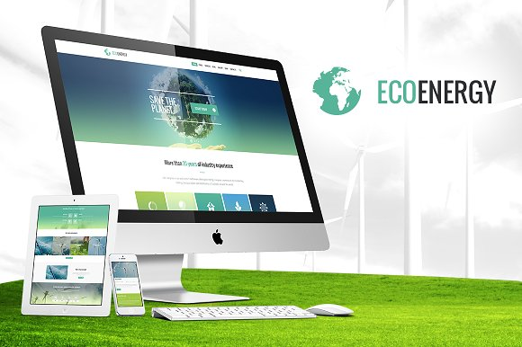ECO Energy v1.1 - Ecology WordPress Theme