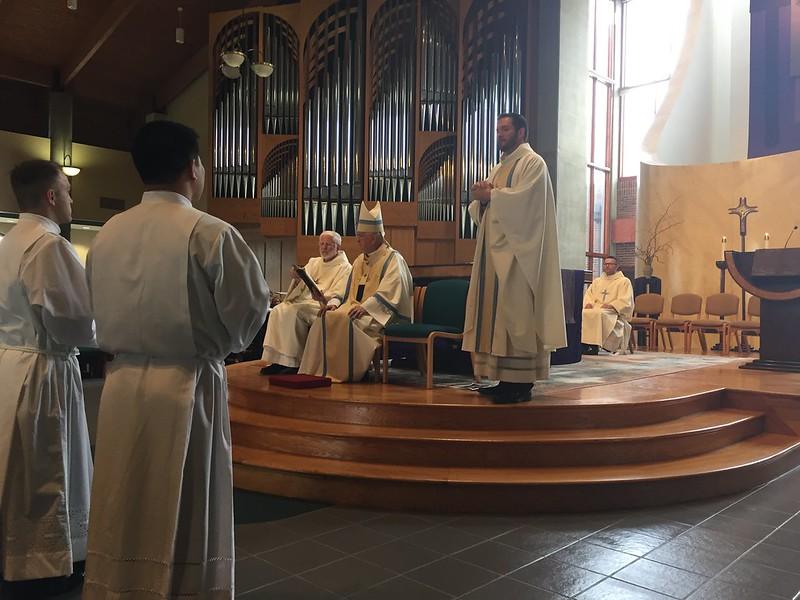 Diaconate Ordination