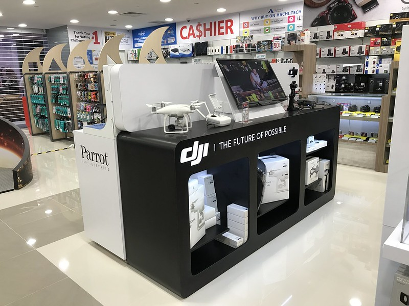 Challenger Flagship Store (Bugis Junction) - Action Cameras/Drones