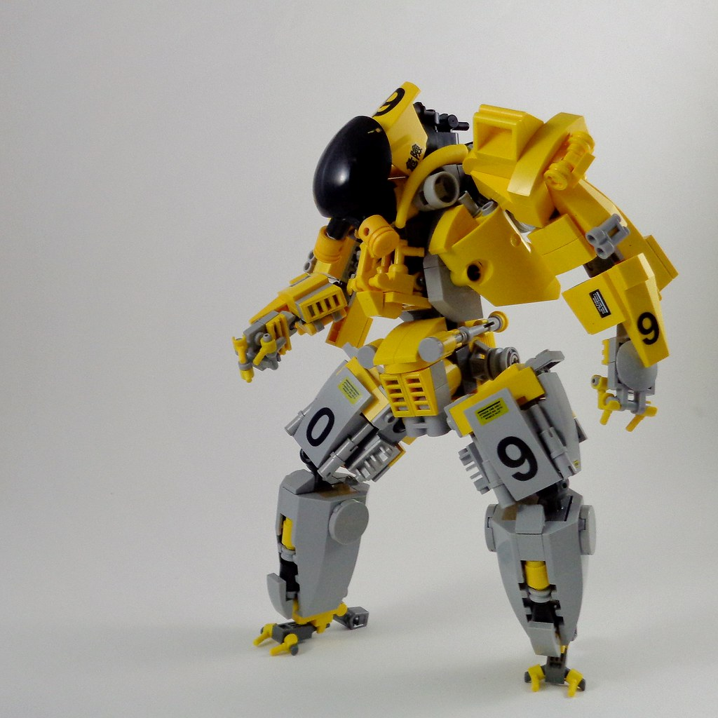 Bug Smasher II Mech (custom built Lego model)