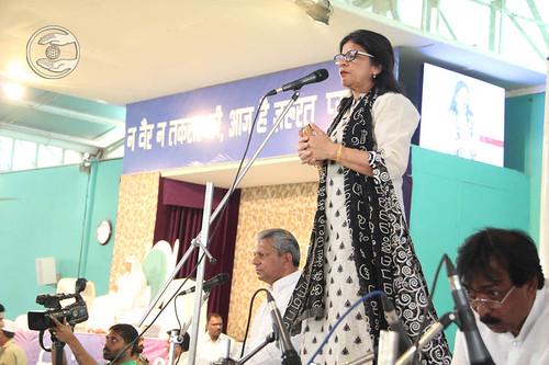 Devotee from Netherland, Namita, expresses her views