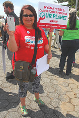 Staten Island Climate March (2) - Patricia Kane, RN