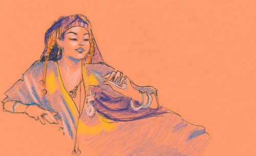 Dr Sketchy's : Lounge