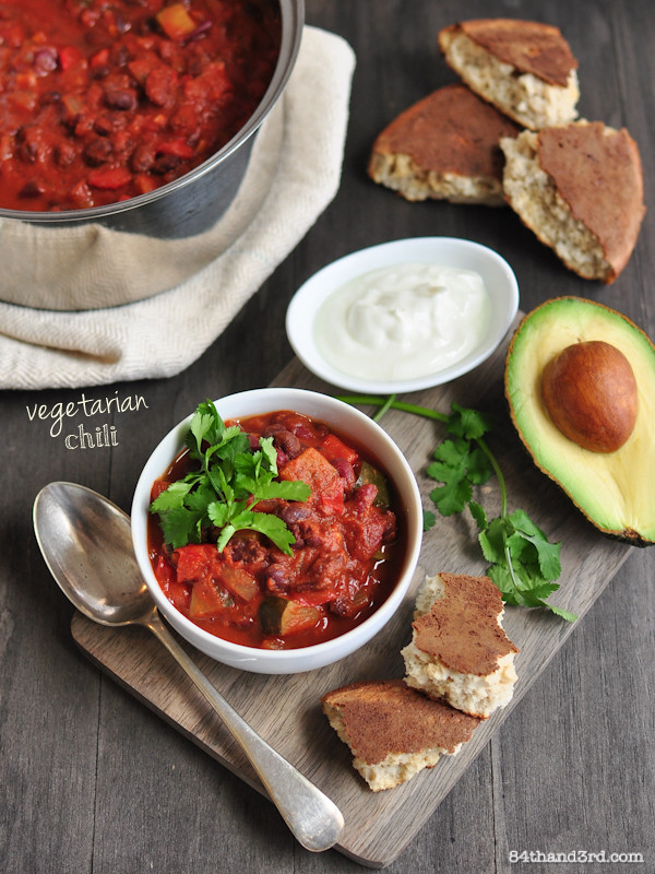 Weeknight Vegetarian Chili