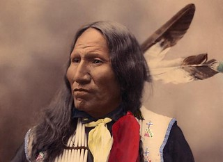 Chief Big Eagle of the Sioux Indians