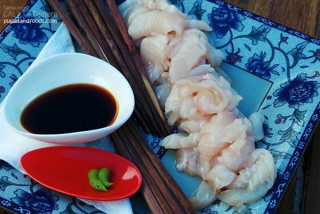 oysterbeds tuna sashimi