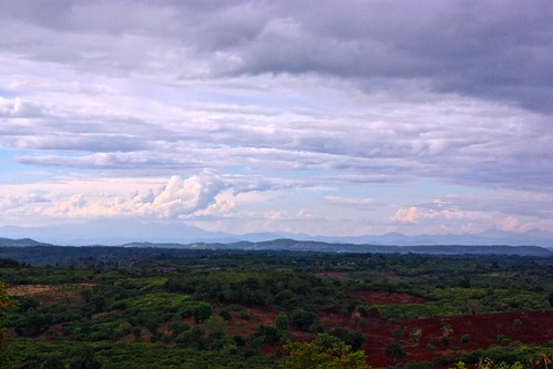 Landscape of northern Cambodia