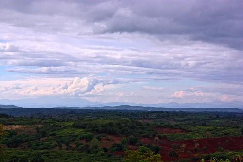 Landscape of northern Cambodia