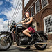 Jaimie And The Art of Motorcycle Maintenance by Don Giannatti (aka wizwow)