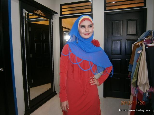 fesyen digayakan Fida Ibrahim