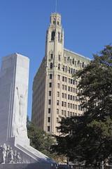 The Alamo Cenotaph - San Antonio, Tx