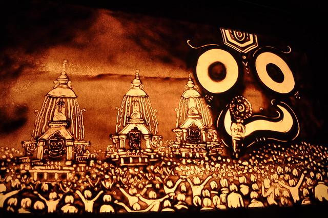 Bhakta Balaram Das Sand Animation By Manas Kumar Sahoo