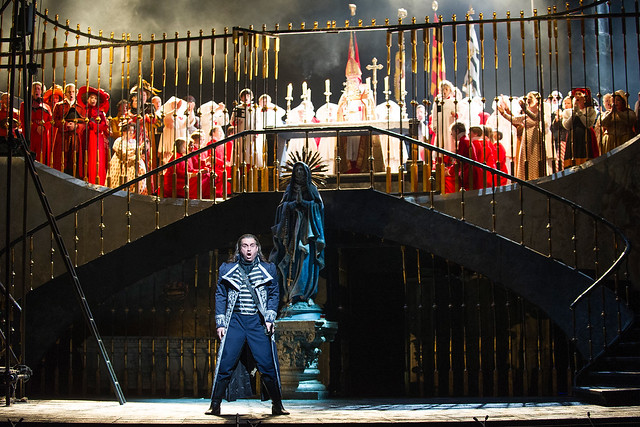 Scott Hendricks as Scarpia in Tosca © ROH / Tristram Kenton 2013